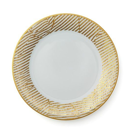 Bedford White Dinner Plate by Kelly Wearstler
