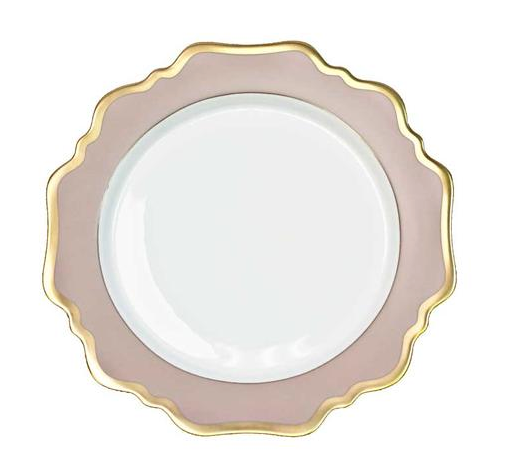 Anna's Palette Dusty Rose Dinner Plate