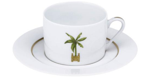 Maldives Tea Cup & Saucer