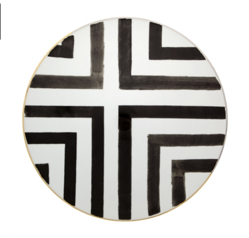 Sol y Sombra Charger Plate  by Christian Lacroix