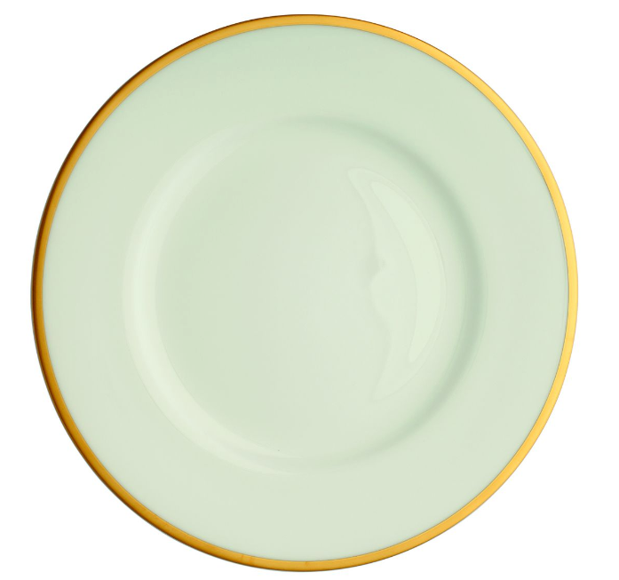 Comet Gold Dinner Plate