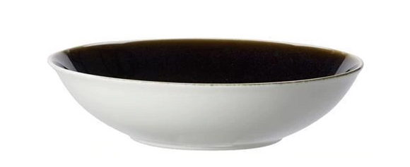 Art Glaze Serving Bowl Clouded Smoke