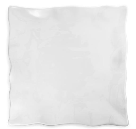 Ruffle White Square Large Platter