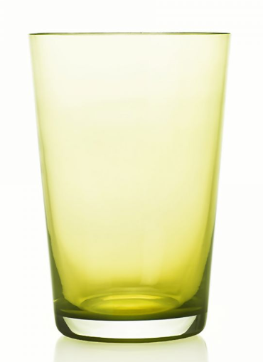 Liso Highball 4 Pc Lime Yellow