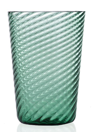 Twist Highball 4 Pc Dark Green