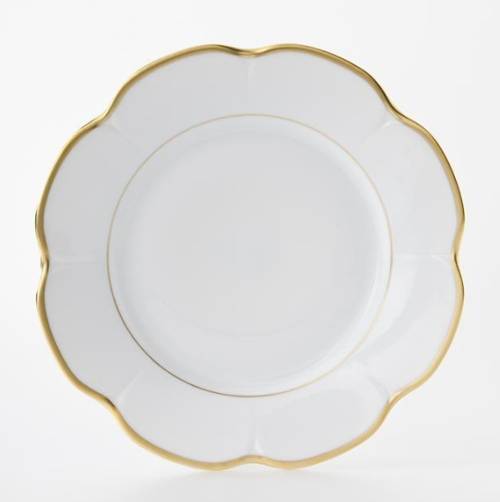 Margaux Matte Gold Filet B&B Plate