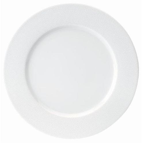 Seychelles White Dinner Plate