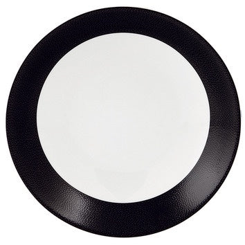 Seychelles Deep Cereal Plate Black