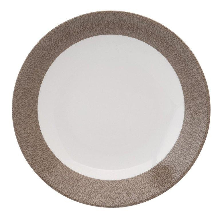 Seychelles Deep Cereal Plate Taupe