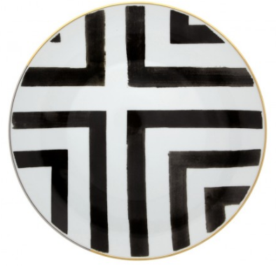 Sol y Sombra Dinner Plate  by Christian Lacroix