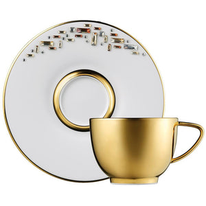 Diana Gold Tea Cup & Saucer