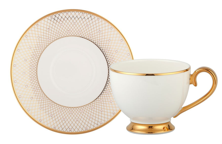 Princess Gold Tea Cup & Saucer