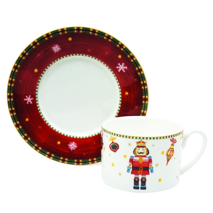 Nutcracker Tea Cup & Saucer
