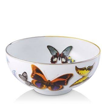 Butterfly Parade Cereal Bowl  by Christian Lacroix
