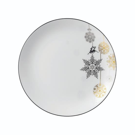 Winter Crystal Accent Plate