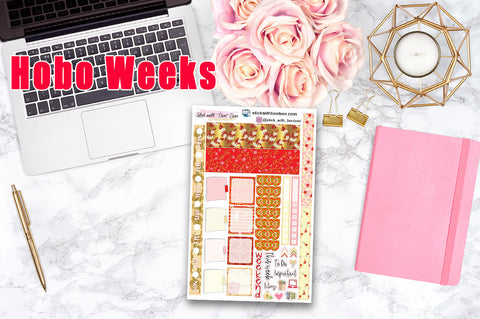 Chinese New Year - Hobonichi Weeks WEEKLY Kit