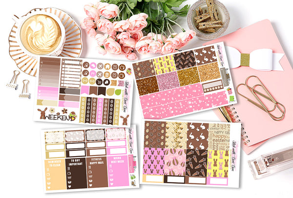 Chocolate Easter - MINI Vertical Weekly Kit