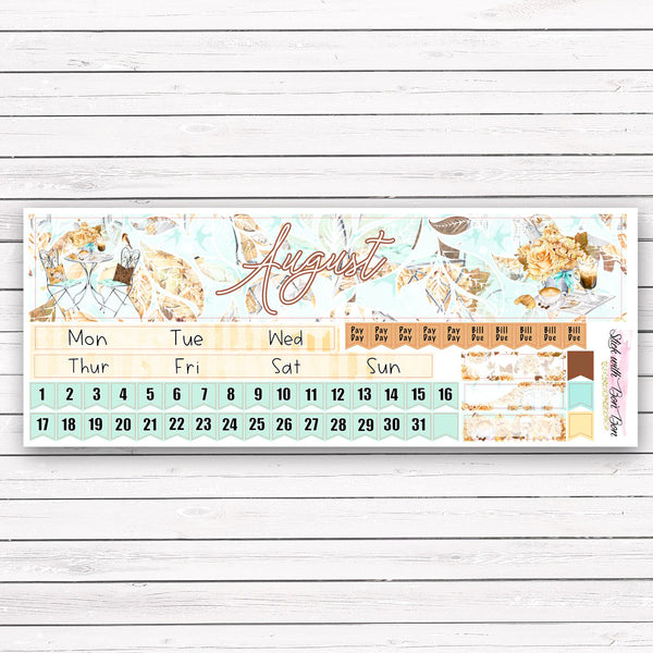 Hobonichi Cousin AUGUST MONTHLY Kit