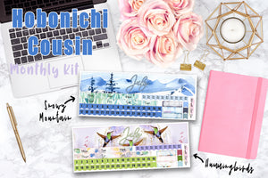 Hobonichi Cousin JULY MONTHLY Kit