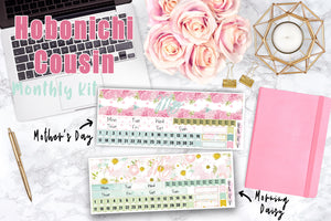 Hobonichi Cousin MAY MONTHLY Kit