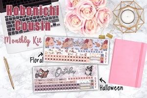 Hobonichi Cousin OCTOBER MONTHLY Kit