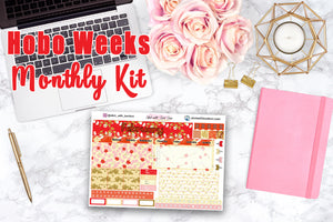 Chinese New Year - Hobonichi Weeks MONTHLY Kit