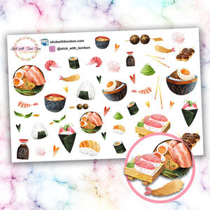 Japanese Food Deco Stickers