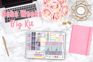 Sugar Rush - Hobonichi Weeks WEEKLY Kit