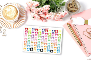 Weight Scale Stickers