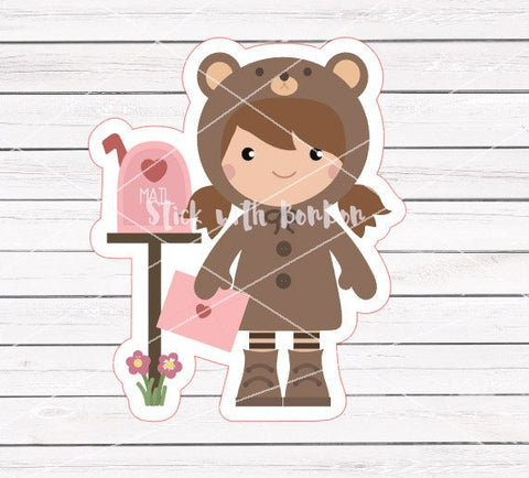 Toffee the Bear Girl - HAPPY MAIL