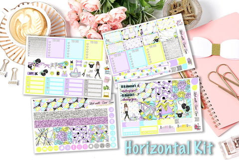 Motivation, Exercise is My Life - Horizontal Weekly Kit