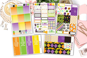 Cute Halloween - Vertical Weekly Kit