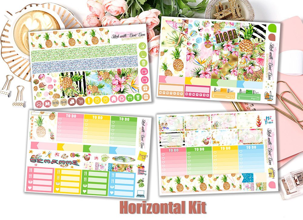 Aloha - Horizontal Weekly Kit