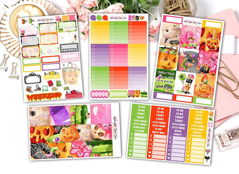 Halloween Treat - Vertical Weekly Kit