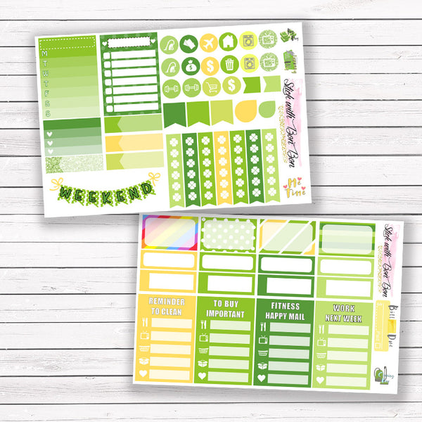 St. Patrick's Day - MINI Vertical Weekly Kit