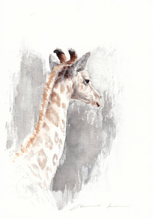 Giraffe 2 - Fine-Art Print - Carina Kramer - Fine Art, Fine Art Print, Wildlife Art/ Animal Painting