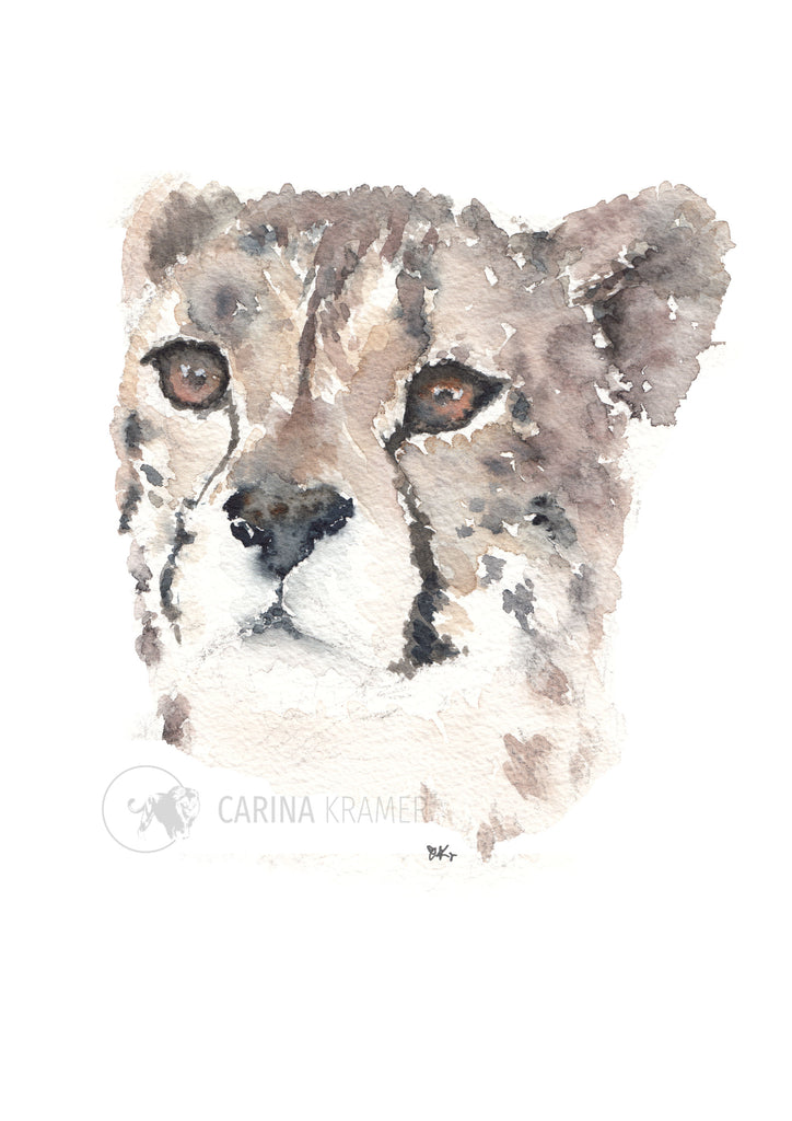 Learning - Carina Kramer - Fine Art, Original Painting, Wildlife Art/ Animal Painting