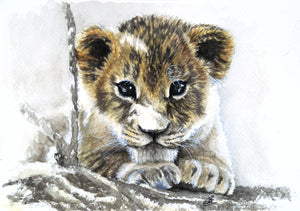 Commission - Carina Kramer - Fine Art, Original Painting, Wildlife Art/ Animal Painting