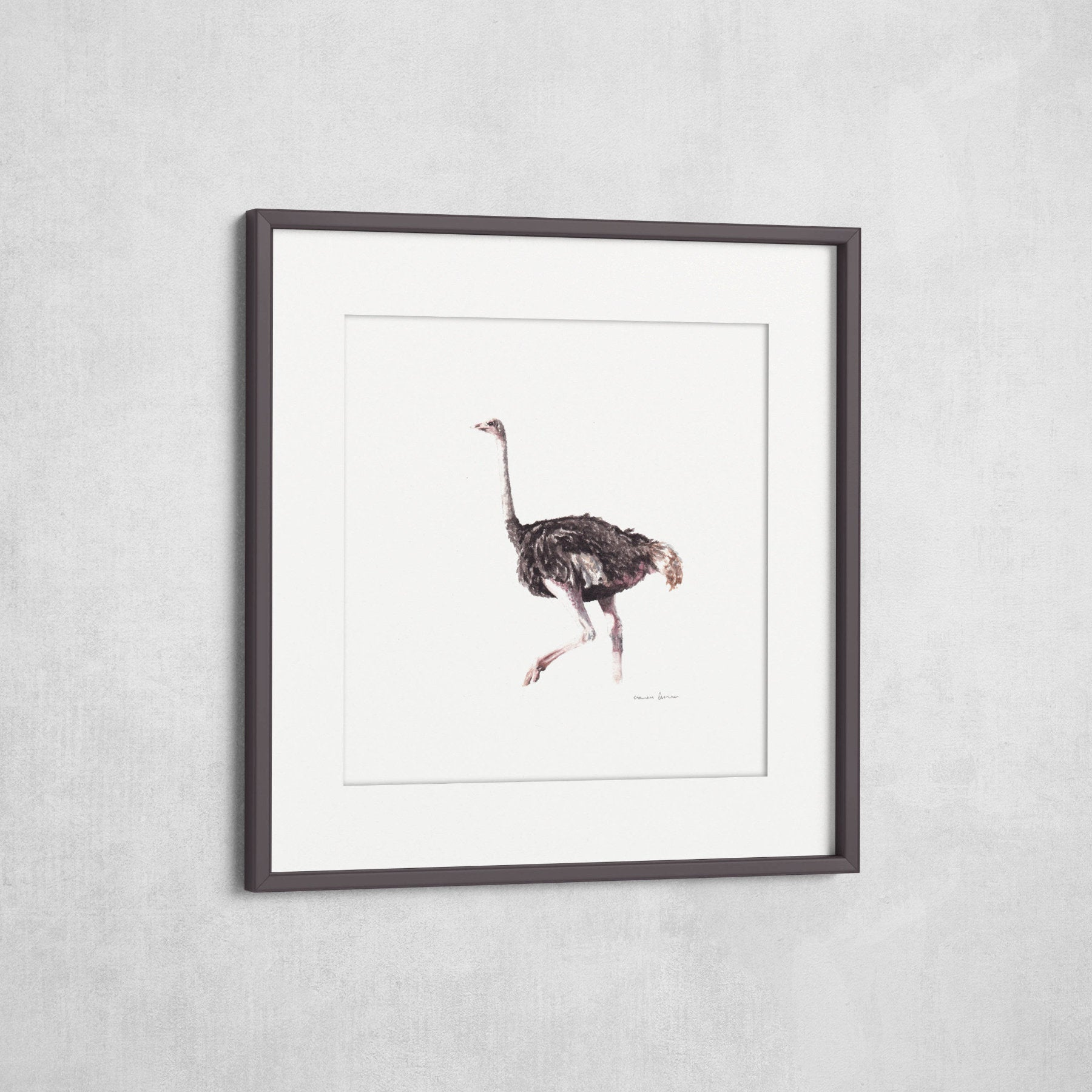 Running - Fine-Art Print (Square) - Carina Kramer - Fine Art, Fine Art Print, Wildlife Art/ Animal Painting