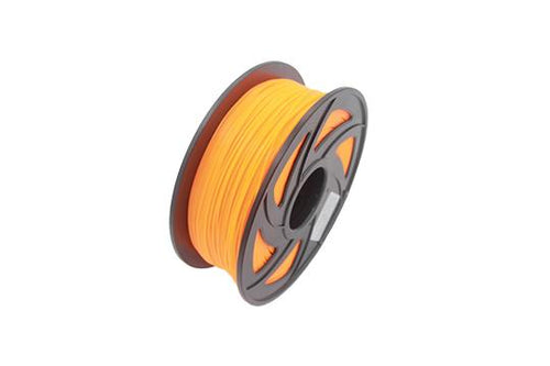 PLA 3D Drucker Filament, 1,75 mm, 1 kg Spule, Fluoreszierend Orange