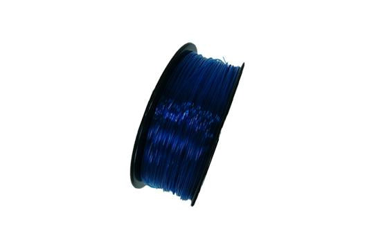 Flexibles TPU-3D-Druckerfilament, 1,75 mm, 0,8 kg Spule, Transparent Blau