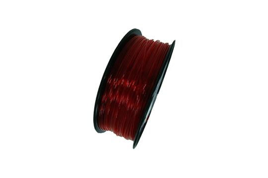 Flexibles TPU-3D-Druckerfilament, 1,75 mm, 0,8 kg Spule, Transparent Rot