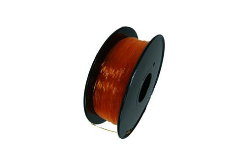 Flexibles TPU-3D-Druckerfilament, 1,75 mm, 0,8 kg Spule, Transparent Orange