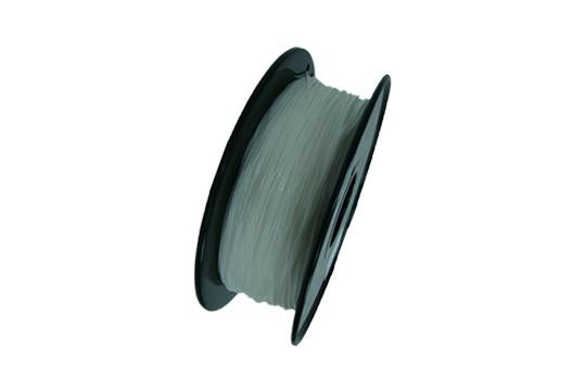Flexibles TPU-3D-Druckerfilament, 1,75 mm, 0,8 kg Spule, Transparent Weiß