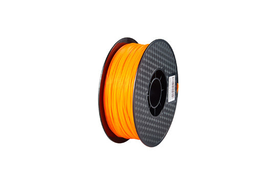 PLA 3D-Drucker-Filament, 1,75 mm, 1 kg Spule, Fluoreszierende Orange
