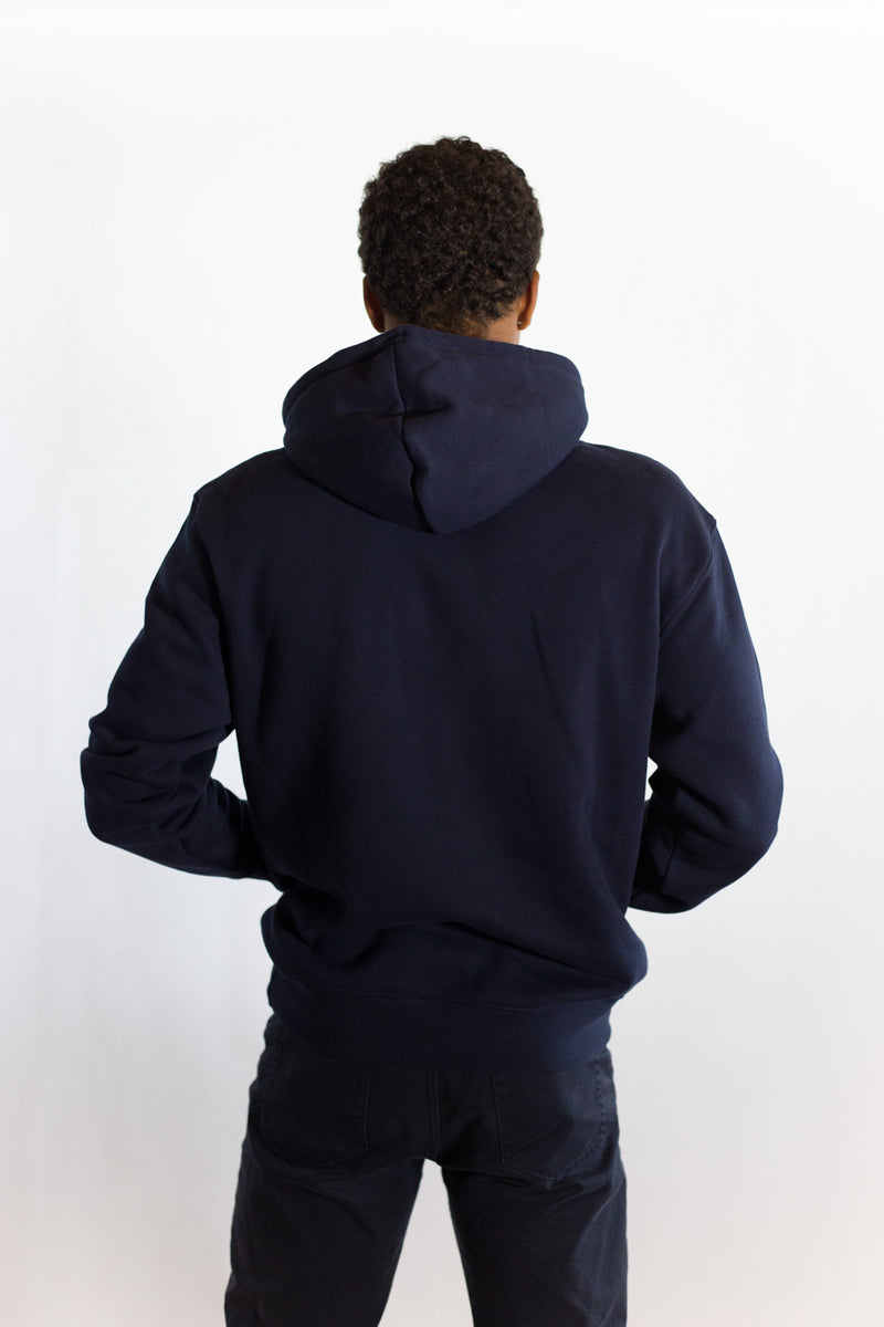 Unisex Hoodie French Navy