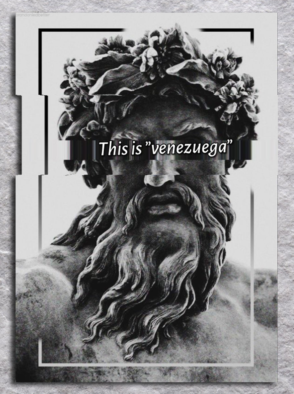 This is Venezuega | Svart