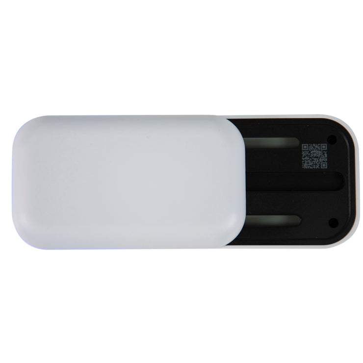 LivePure LP-UVS100 UV-Sanitizer, Slide Out with QR Code, Pearl White