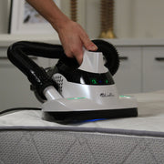 LivePure Ultramite UV Dust Mite HEPA Vacuum Removing Dust Mites and Allergens from Mattress