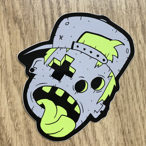 Game Boy Boy Vinyl Cut Sticker
